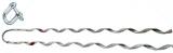 Натяжные зажимы без протекторов для ВОК с тяжением  от 1 Кн до 5 кН