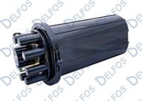 Муфта оптическая GJS-R 144 Core (термоусадка)